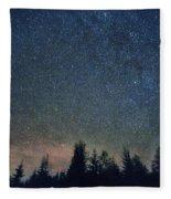 Stars At Night Fleece Blanket