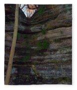 Starved Rock No 1 Fleece Blanket