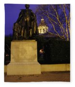 State Capitol Building - Concord New Hampshire Usa Fleece Blanket
