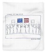 State Of The Union Fleece Blanket