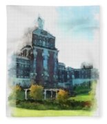Stately Beauty Fleece Blanket