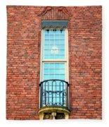 Stadshuset Window Fleece Blanket