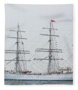 Statsraad Lehkuhl From Norway Fleece Blanket