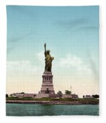 Statue Of Liberty, C1905 Fleece Blanket
