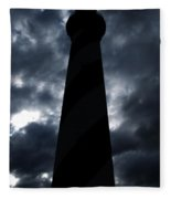 St.augustine Light House Night Fleece Blanket