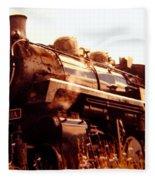 Steam Engine 3716 Fleece Blanket