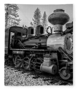 Steam Locomotive 5 Fleece Blanket