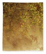 Steam Mist Fleece Blanket