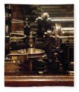 Steam Punk - Diy Typewriter Fleece Blanket