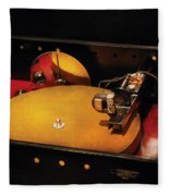 Steam Punk - Hey Dj Make Some Noise Cine-music System Fleece Blanket
