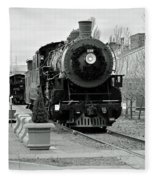 Steam Train Fleece Blanket