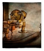 Steampunk - Gear Technology Fleece Blanket
