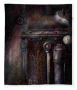 Steampunk - Handling Pressure  Fleece Blanket