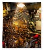 Steampunk - Naval - The Torpedo Room Fleece Blanket