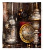 Steampunk - Needs Oil Fleece Blanket