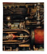 Steampunk - No 8431 Fleece Blanket