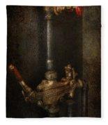 Steampunk - Plumbing - Number 4 - Universal  Fleece Blanket
