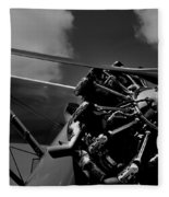Stearman Pt-18 Kadet - 1940 Fleece Blanket