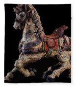 Steed Fleece Blanket