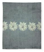 Steely Gray Bluer Version Fleece Blanket