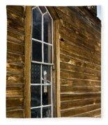 Steeple Window Wall Fleece Blanket