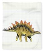 Stegosaurus Fleece Blanket