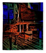 Steinway Piano Fleece Blanket