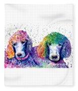 Stella And Violet Fleece Blanket