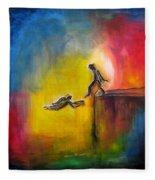 Step Of Faith Fleece Blanket