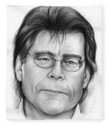 Stephen King Fleece Blanket