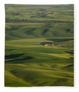 Steptoe Butte 5 Fleece Blanket