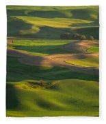 Steptoe Butte Fleece Blanket