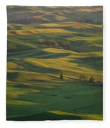 Steptoe Butte 9 Fleece Blanket