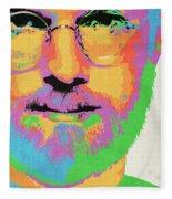Steve Jobs Fleece Blanket