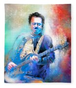 Steve Lukather 01 Fleece Blanket