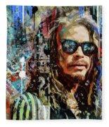 Steven Tyler Tribute Fleece Blanket