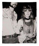 Stevie Nicks And Lindsey Buckingham Fleece Blanket