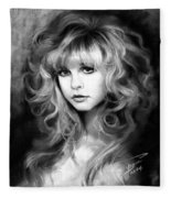Stevie Nicks Fleece Blanket