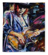 Stevie Ray Vaughan Fleece Blanket