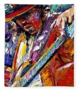 Stevie Ray Vaughan Number One Fleece Blanket