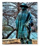 Stevie Ray Vaughan Vibrant Colors Fleece Blanket