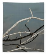 Sticks In The Water Fleece Blanket