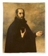 St.ignatius Loyola Fleece Blanket