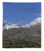 Stikine Mountains 2 Fleece Blanket