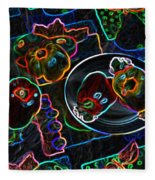 Still Life D Fleece Blanket
