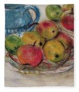 Still Life With Blue Teapot 2 Fleece Blanket