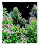 Still Of The Night Fleece Blanket
