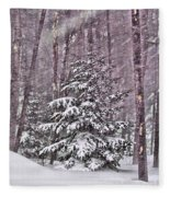 Still Standing Tall Fleece Blanket