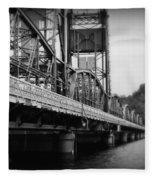 Stillwater Bridge  Fleece Blanket