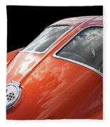 Stingray Split Window 1963 Fleece Blanket